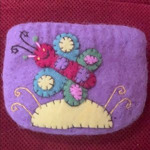 Handbags - Felt coin purse